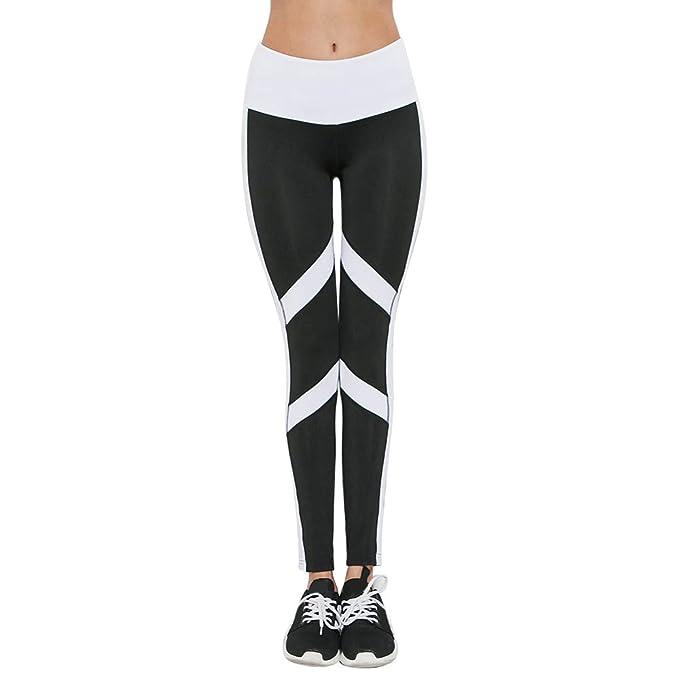94061ad13e220 Damen Yoga Laufen Pants, Yogogo Damen Yoga Leggings Hose Hohe Taille ...