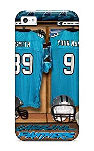Shock-dirt Proof Carolina Panthers Case Cover For Iphone 5c by lolosakes