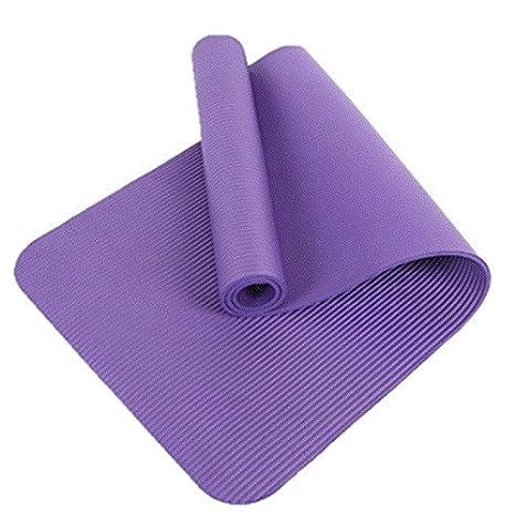YOOMAT Yoga Mat Estera de la Aptitud Grueso Estiramiento ...