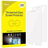 Electronics : JETech 2-Pack iPhone 8 7 Screen Protector Tempered Glass Film for Apple 4.7-Inch iPhone 8, iPhone 7