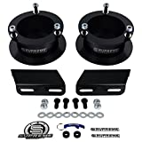 "Supreme Suspensions - 2"" Front Lift Kit for 1994-2012 Dodge Ram 2500 3500 4WD and 1994-2001 Dodge Ram 1500 4WD Front Carbon Steel Spring Spacers + Carbon Steel Sway Bar Brackets"