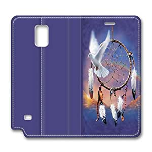 Dove Dreamcatcher Samsung Galaxy Note 4 Smart Leather Cover