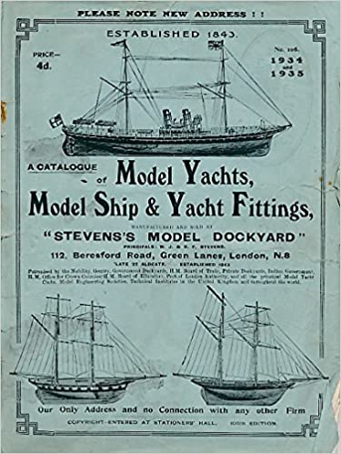 A Catalogue Of Model Yachts, Model Ships & Yacht Fittings