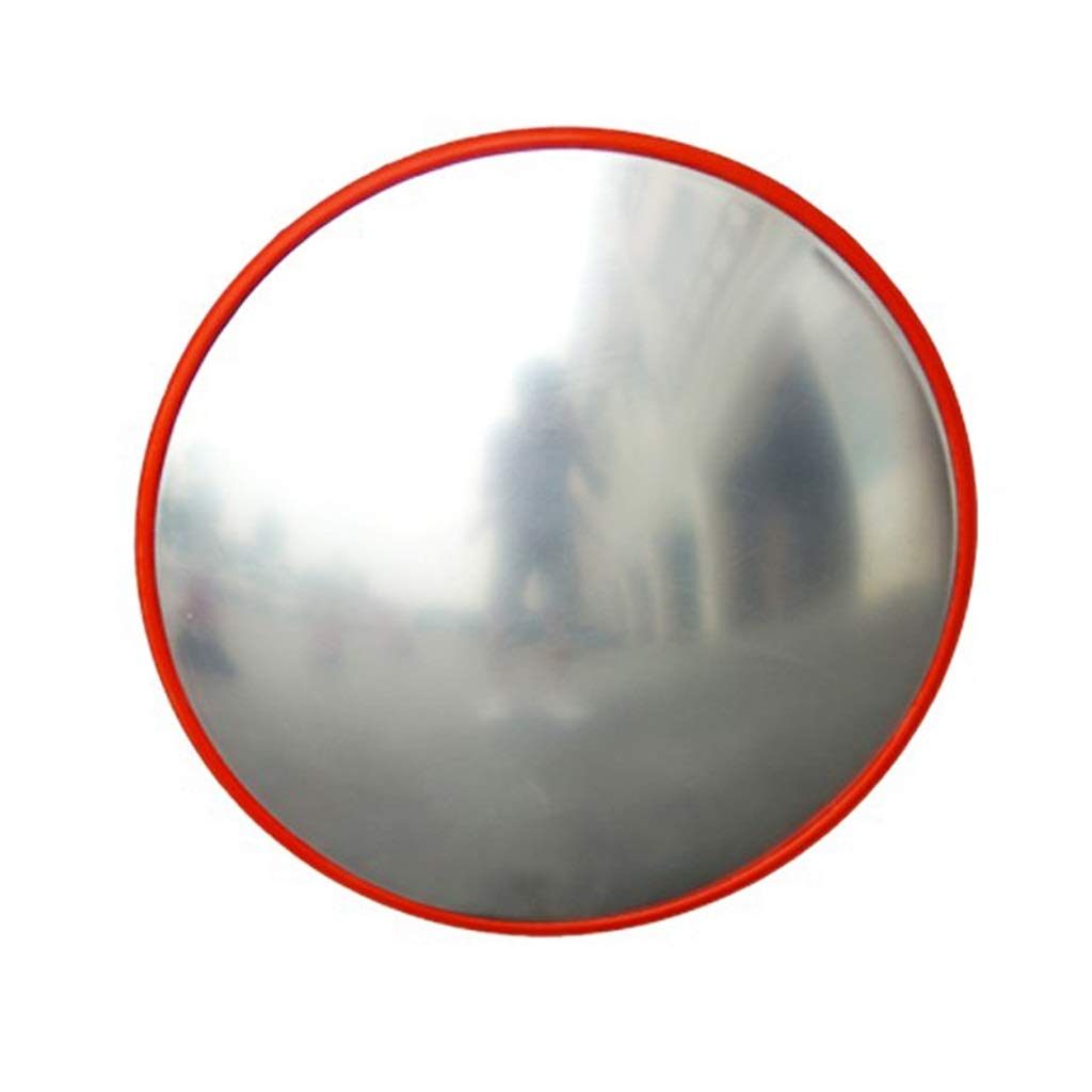 安全ミラー セキュリティ広角ミラー、 衝突防止クリアPCミラー 230°見事な広角 屋外用 構内設置に最適 中長距離用 (Size : A60cm) A60cm  B07SCKBQP1