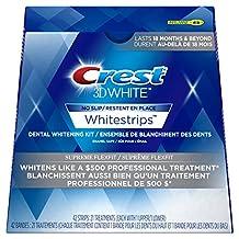 Crest 3D White Whitestrips Supreme Flexfit Treatments, 21 Count