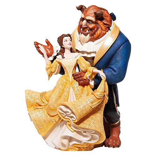 Enesco Disney Showcase Couture de Force Beauty and The Beast Dance Figurine, 10.24 Inch, Multicolor