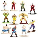 Street Fighter Nano Metalfigs Die - Cast Mini Figures Case