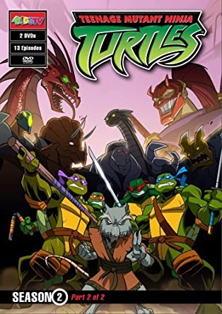 Amazon.com: Teenage Mutant Ninja Turtles: Season 2, Part 2 ...