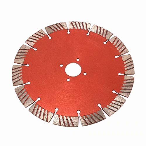 7.5 Inch 190mm Diamond Circular Wet or Dry Saw Blade witn 1''Bore Segmented Turbo Teeth Cutting Disc for Cutting Brick Concrete Ceramic Glass Tiles Stone by SYPARTS TOOL