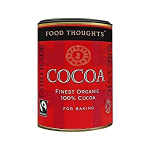 Food Thoughts Fairtrade Organic Cocoa 125g - Pack of 2