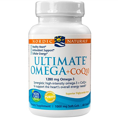 Nordic Naturals - Ultimate Omega+CoQ10, Support for the Heart + Circulatory System, 120 Soft ()