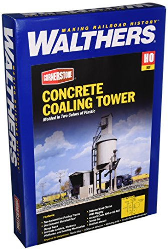 Ho Concrete (Walthers Cornerstone Series Kit HO Scale Concrete Coaling Tower)