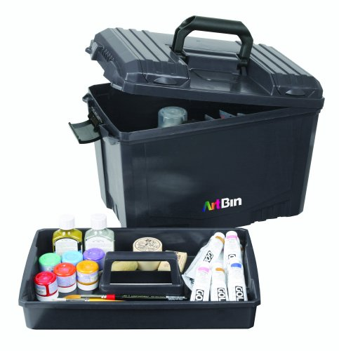 ArtBin 6917AB 6917 AB Sidekick Box, X-Large Black,