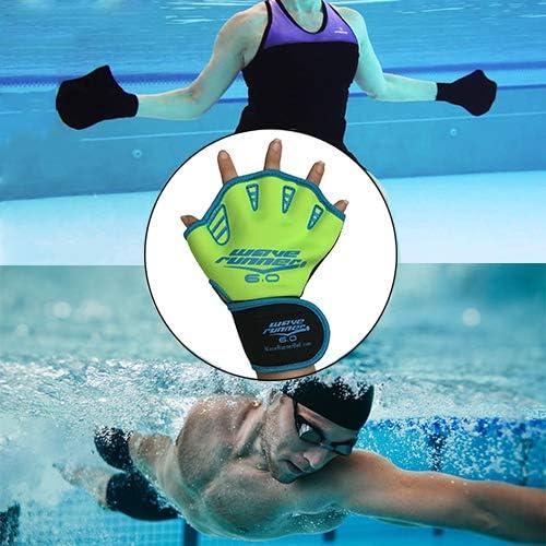 Amazon.com: Wave Runner 6.0 agua guantes con cinchas de ...