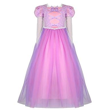 fd18171e7fba0 (フォーペンド)Forpend ラプンツェル風 ドレス 子ども DR62 コスチューム ハロウィン クリスマス 子供服 ワンピース 誕生