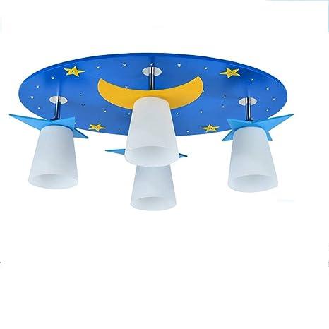 Habitaciones infantiles Lámpara de techo con luces de niños ...