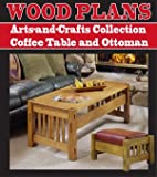 Coffee Table Woodworking Plans COFFEE TABLE AND OTTOMAN WOODWORKING PAPER PLAN PW10032