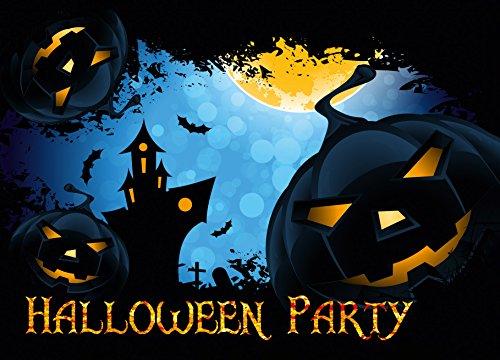 12er Set Halloween Einladungen // Gruselige Kürbis Einladungskarten Für  Eure Halloweenparty // Auch Für Kindergeburtstage Von Jungen Und Mädchen:  Amazon.de: ...