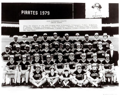 Champions Team Photomint (1979 World Champions Pittsburgh Pirates Team 8x10 Photo- Mint)