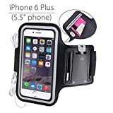 Best Iphone 6 Plus Armbands - Avantree iPhone 6 6s plus Armband, Running Armband Review