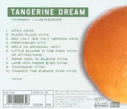 Tornado-Live in Europe by Tangerine Dream