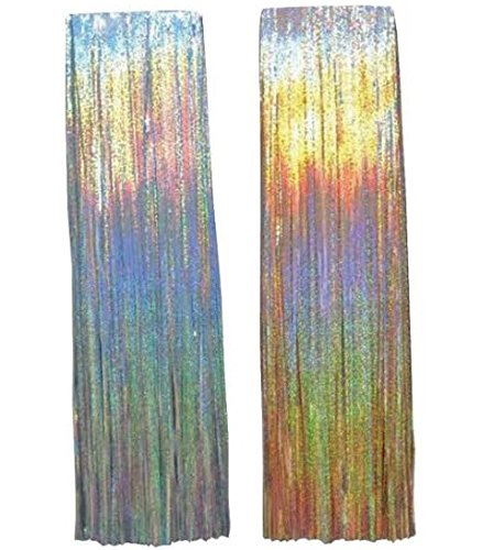 TINSEL ICICLES 500 CT by CHRISTMAS EVE MfrPartNo 594219-5007AC by Ace Trading - Santa'S Best 1