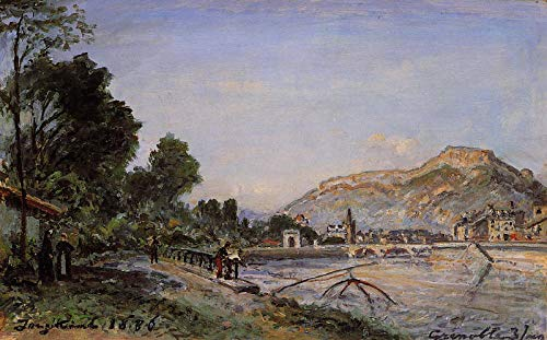 Johan-Berthold Jongkind The Banks of The Isere at Grenoble in Spring 1886 Private Collection 30