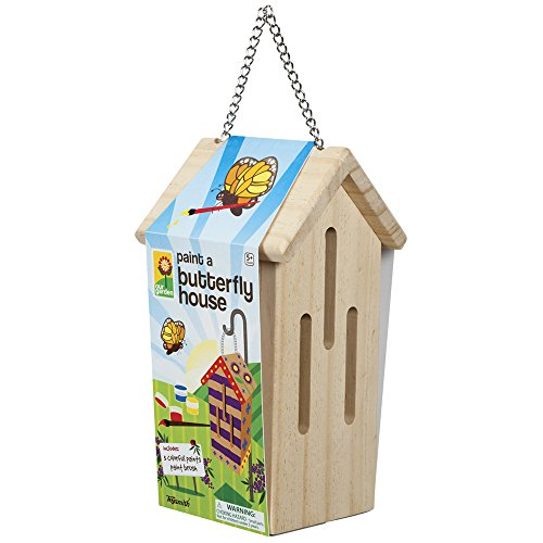 Toysmith Paint-A-Butterfly House