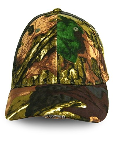 c5da025460d LED Cap - Unisex Hunting Cap With 5 Ultra Bright LED Adjustable Head Lamp -  Hands