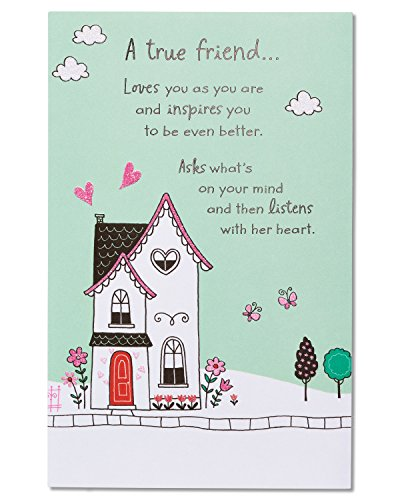 American Greetings Birthday Card for Friend (True Great Friend)