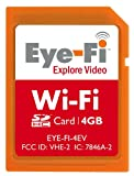 Eye-Fi 4 GB Explore Video SDHC Wireless Flash Memory Card EYE-FI-4EV