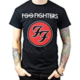 Foo Fighters Logo Men's Crew Neck Tee T-shirt (X-Large)