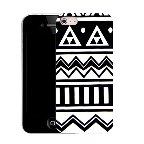 Mobile Case Mate IPhone 5S clip on Silicone Coque couverture case cover Pare-chocs + STYLET - modern pattern (SILICON)
