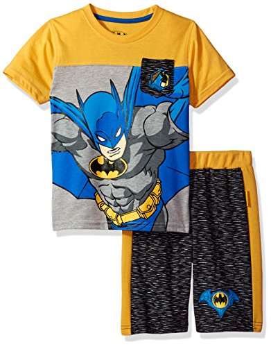 Warner Bros. Little Boys' 2 Piece Batman Tee and Short Set at Gotham City Store