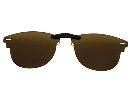 444a26b36c Custom Fit Polarized CLIP-ON Sunglasses For Ray-Ban RB5154 49X21 ...