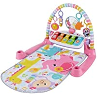 Fisher-Price Deluxe Kick & Play Piano Gym, Rosado