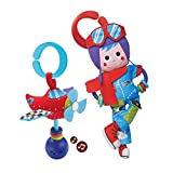 Yookidoo Baby Rattle And Plush Set - Musical Airplane And Pilot Play Set (3 mo+)