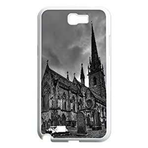 Samsung Galaxy Note 2 Cases Marble Church Bodelwyddan, Samsung Galaxy Note 2 Cases Church, [White]