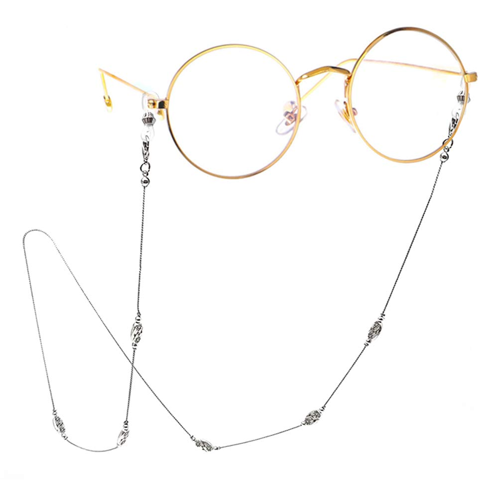 TERAISE Eyeglass Chain for Women/Ladies Retro Metal Sunglasses Cords Adjustable
