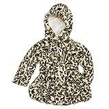 Widgeon Girls Faux Fur Peplum Coat,Brown,5