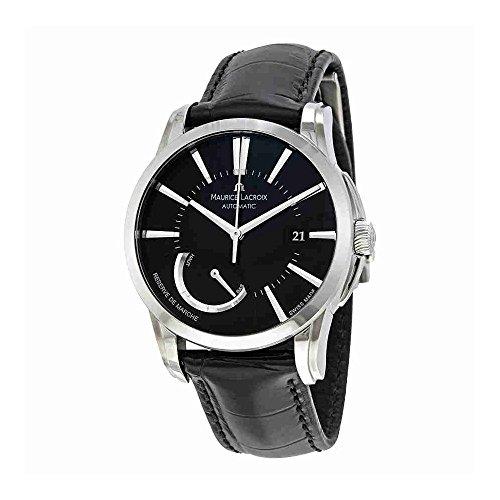 maurice-lacroix-mens-pt6168-ss001331-pontos-pontos-black-dial-watch