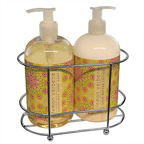 (Greenwhich Bay Trading Co. Shea Hand And Body Due Sink Set (Lemon)