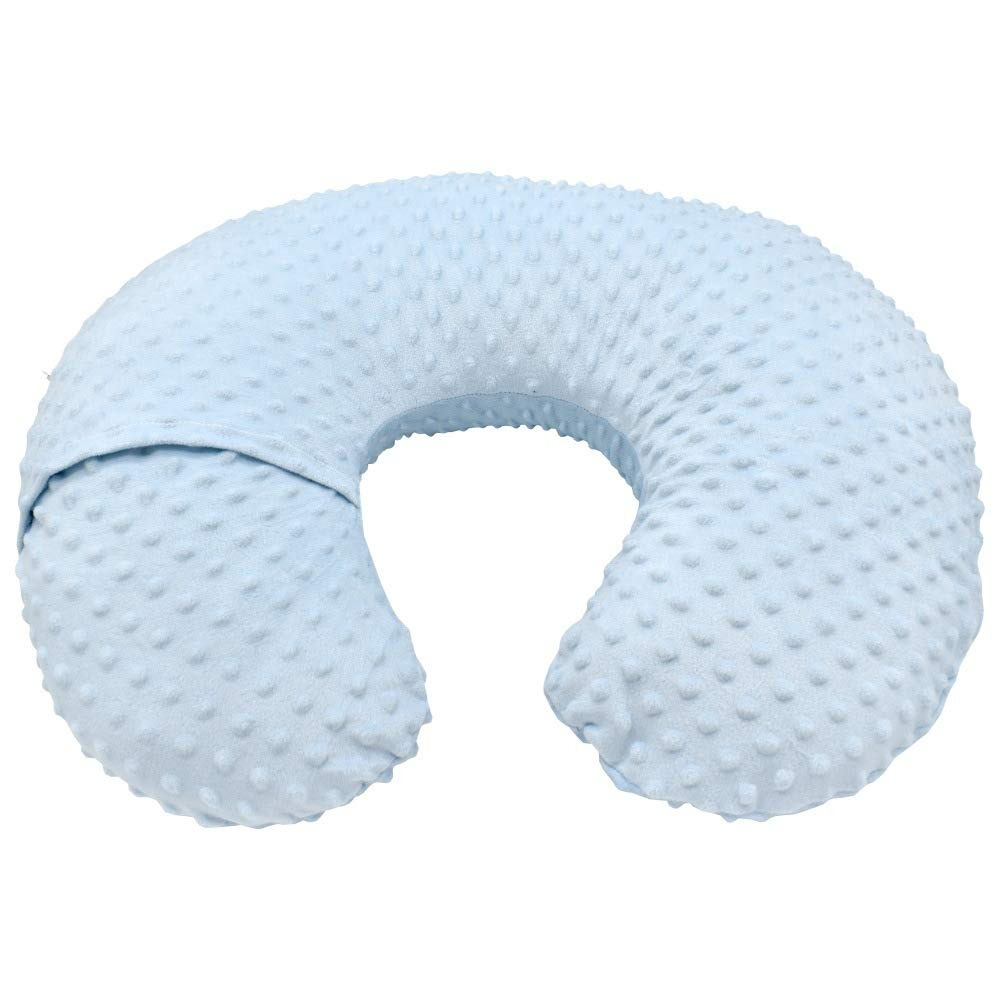 Ultra Soft Minky Dot Nursing Pillow Cover Multi-Use Breastfeeding Nursing Pillow Slipcovers Pink