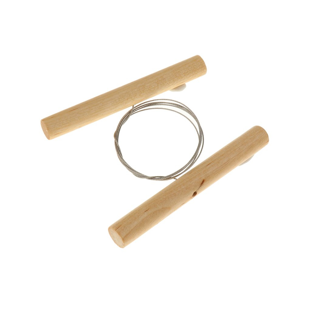 MonkeyJack Steel Cutting Wire for Clay Pottery Sculpture Modeling Making Wooden Handle