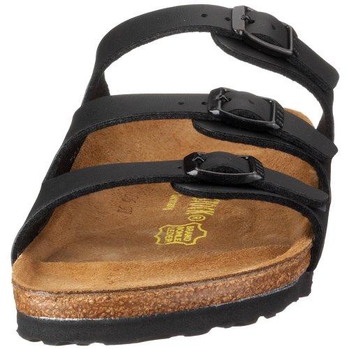 Birkenstock Womens Florida Soft Footbed Birko-Flor  Schwarz Sandals - 6.5 M US joEoN