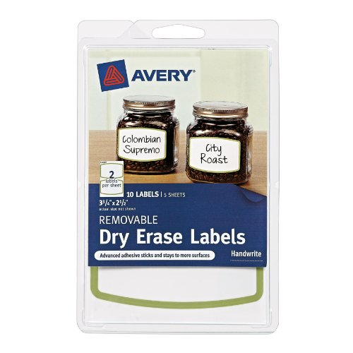 Avery Removable Labels Border 41451