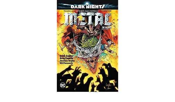 Dark Nights: Deluxe Edition: Metal: Amazon.es: Scott Snyder: Libros en idiomas extranjeros