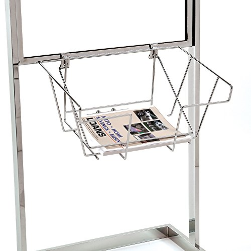 (Econoco WSB2 Wire Literature Basket for Bulletin Sign Holder (Pack of 6))