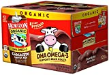 Horizon Organic Low Fat Organic Milk Box Plus DHA Omega-3, Chocolate, 8 Ounce (Pack of 24)