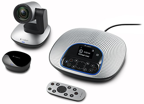 Logitech ConferenceCam CC3000e All-In-One HD Video and Audio Conferencing System, 1080p Camera and Speakerphone ()